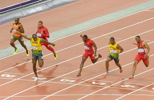 olympia 100m finale männer