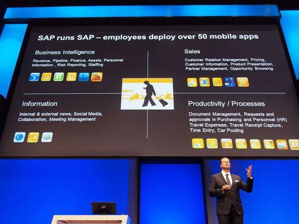 Keynote Oliver Bussmann, Executive Vice President und Global Information Officer der SAP AG