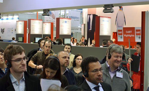 Fujitsu auf der CeBIT 2013