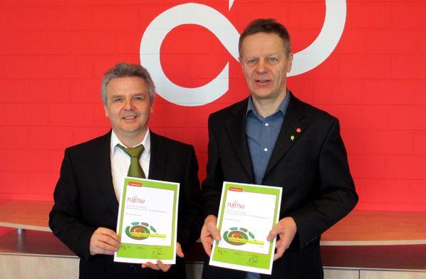 Franz Siebert (Entwicklung) und Hellmut Böttner (Qualitätsmanagement)