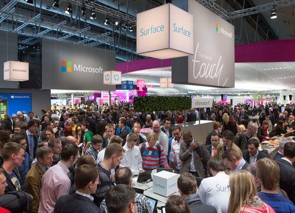 Microsoft auf der CeBIT