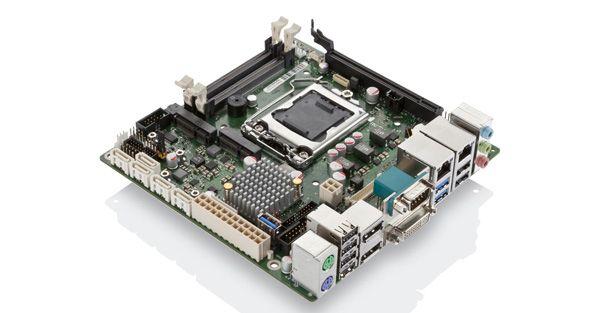 Mini-ITX-Industriemainboard D3243-S von Fujitsu