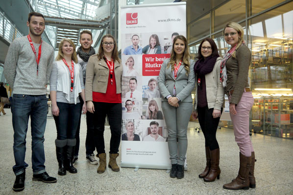 Spendenaktion der DKMS