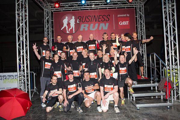 CeBIT-Run Fujitsu-Runners