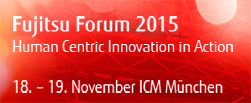 Fujitsu Forum 2015 - Jetzt anmelden