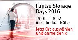 Storage Days 2016 - Jetzt anmelden