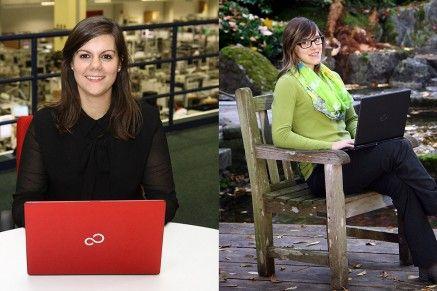 Ich arbeite gerne bei Fujitsu, weil ... - Teil 1: Katarina und Patrizia