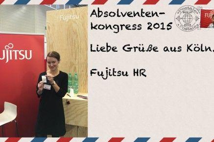 Postkarte Absolventenkongress 2015