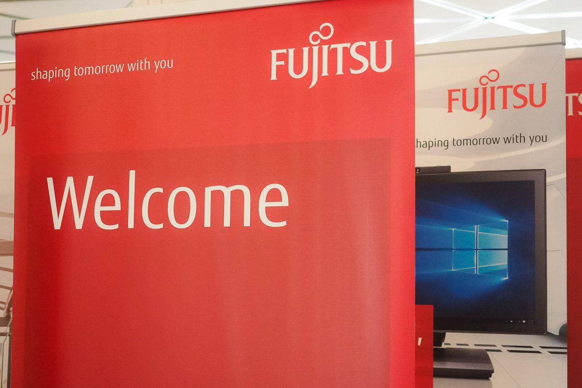Aufbau Fujitsu World Tour Düsseldorf