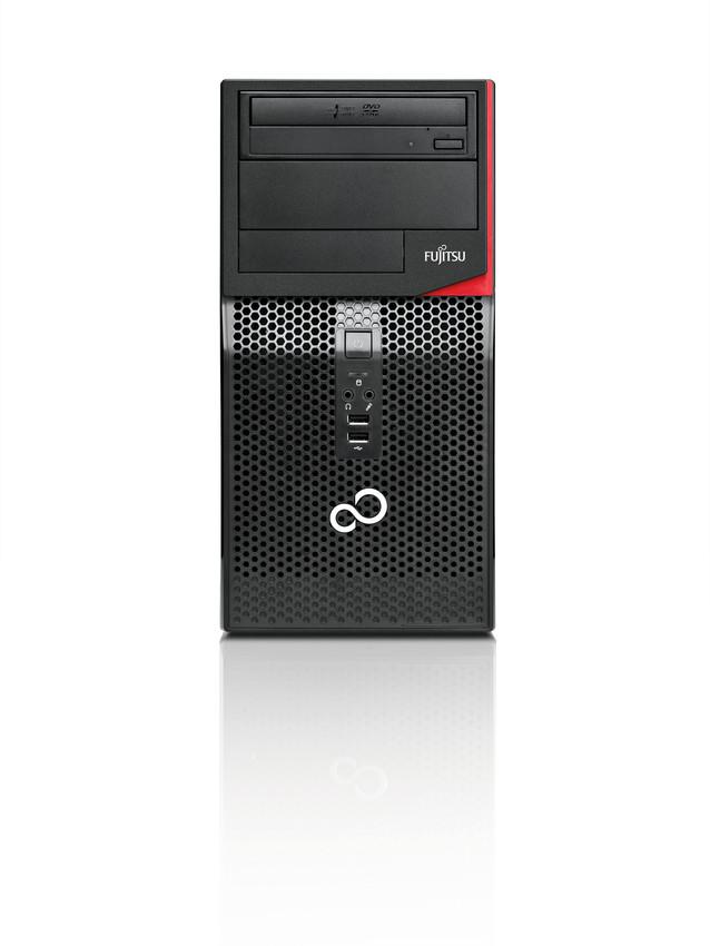 30091_FUJITSU_Desktop_ESPRIMO_P410__P420__P520__P556__PH310__PH320_-_front_view__with_reflection_scr