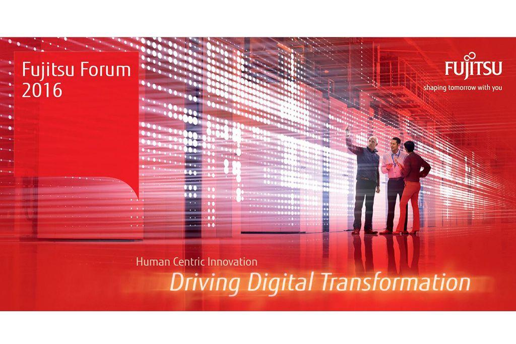 Fujitsu Forum 2016: Driving Digital Transformation - auf den Menschen kommt es an