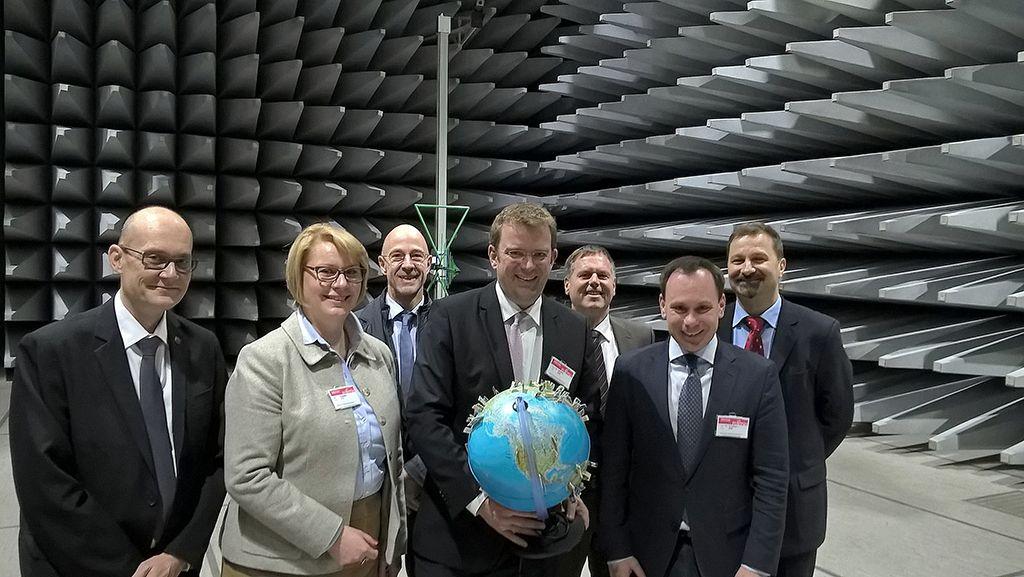 Digitalisierung als zentrales Thema - die Delegation in Augsburg