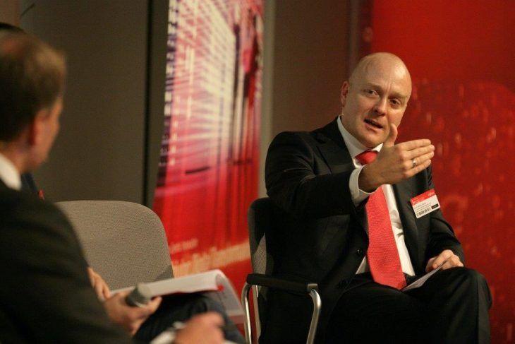 Jens-Rainer Jänig, mc-quadrat bei der Breakout Session Corporate Digital Responsibility
