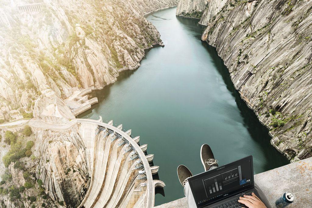 Fujitsu am Wasser, zu Lande und (fast) in der Luft - wo sie Fujitsu Produkte vielleicht nicht erwarten würden