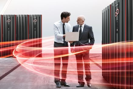 Mainframe - Gespräch im Mainframeraum