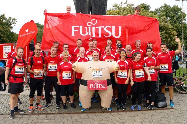 Fujitsu beim B2Run in Hannover