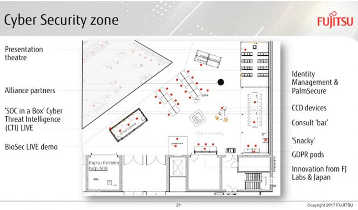 IT-Sicherheit auf dem Fujitsu Forum 2017 - Cyber Security Zone