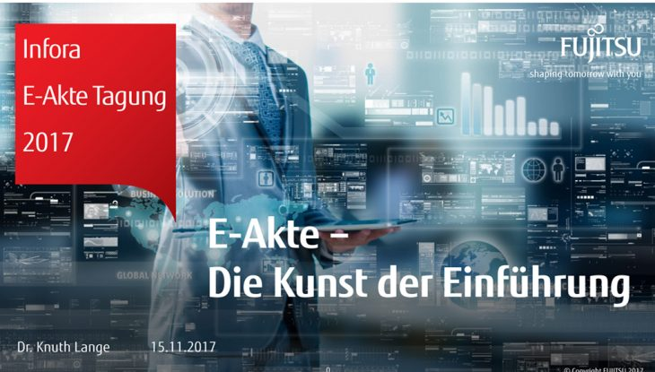 E-Akte: Die Kunst der Einführung