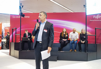 Fujitsu Forum 2017: In der Co-creation Arena