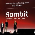 Fujitsu Forum 2017: Rombit gewinnt den Start Up Award
