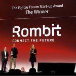 Fujitsu Forum 2017: Rombit gewinnt den Start Up Award