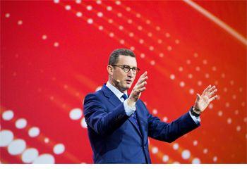 Fujitsu Forum 2017 - Duncan Tait bei der Opening Keynote