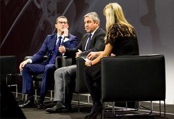 Fujitsu Forum 2017: Rob Enslin im Gespräch mit Duncan Tait