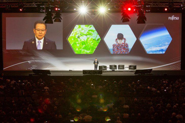Die große Opening Keynote beim Fujitsu Forum 2017