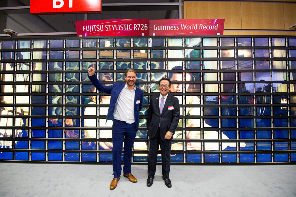Weltrekord beim Fujitsu Forum 2017