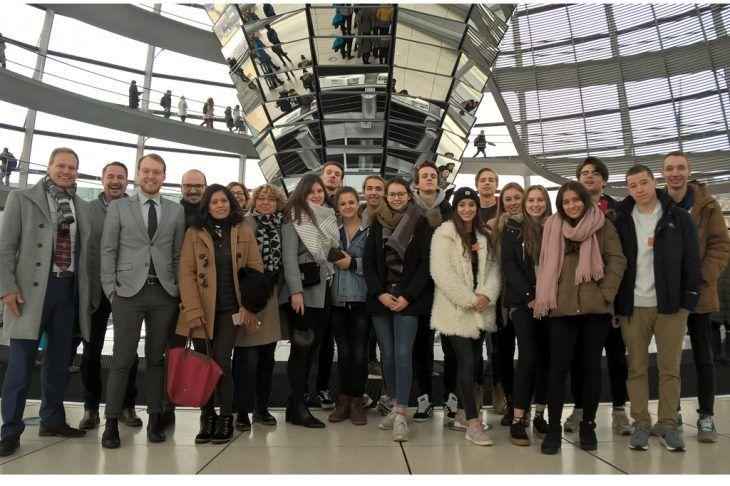 Bundestagsbesuch des Abiturjahrgangs