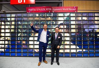 Tablet Weltrekord beim Fujitsu Forum 2017