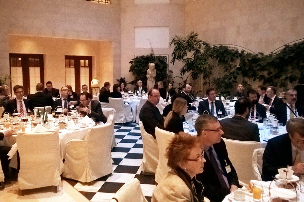 Parlamentarisches Frühstück zum Thema Cyber-Sicherheit in Berlin
