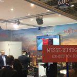 Impressionen vom Fujitsu Stand bei der E-world energy & water