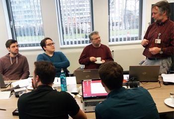 Studierende beim Mainframe Day in Frankfurt