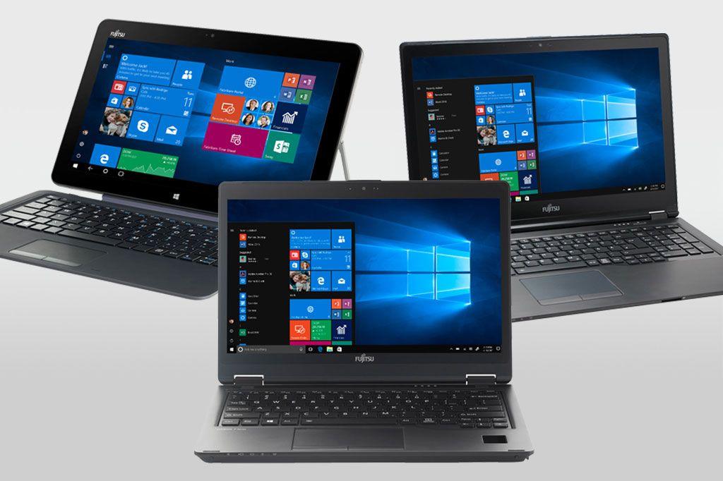 Großer Tablet und Notebook Test