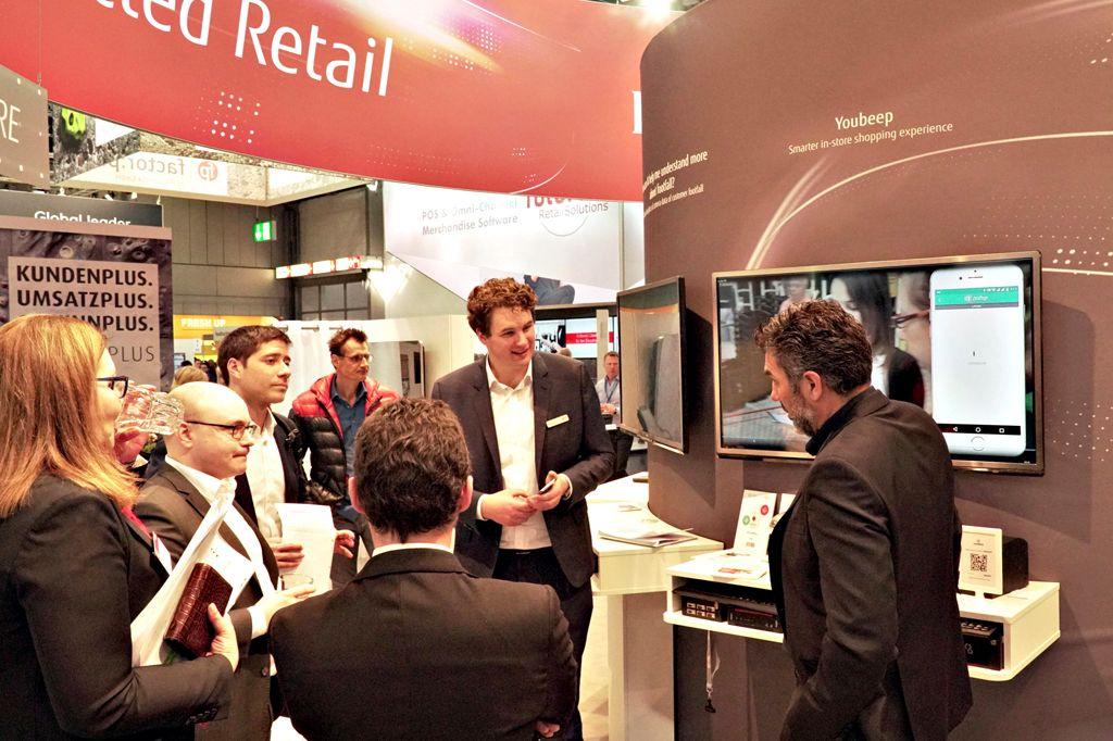 Die Fujitsu Highlights bei der EuroCIS 2018 weckten großes Interesse.