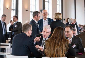 Bei der Jahreskonferenz Digitale Verwaltung entstanden viele interessante Diskussionen.