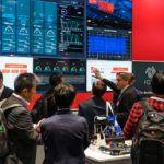 Impressionen des Fujitsu Standes auf der Hannover Messe Industrie 2018