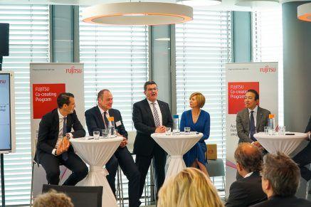 Das FUJITSU Digital Transformation Center in München ist eröffnet.