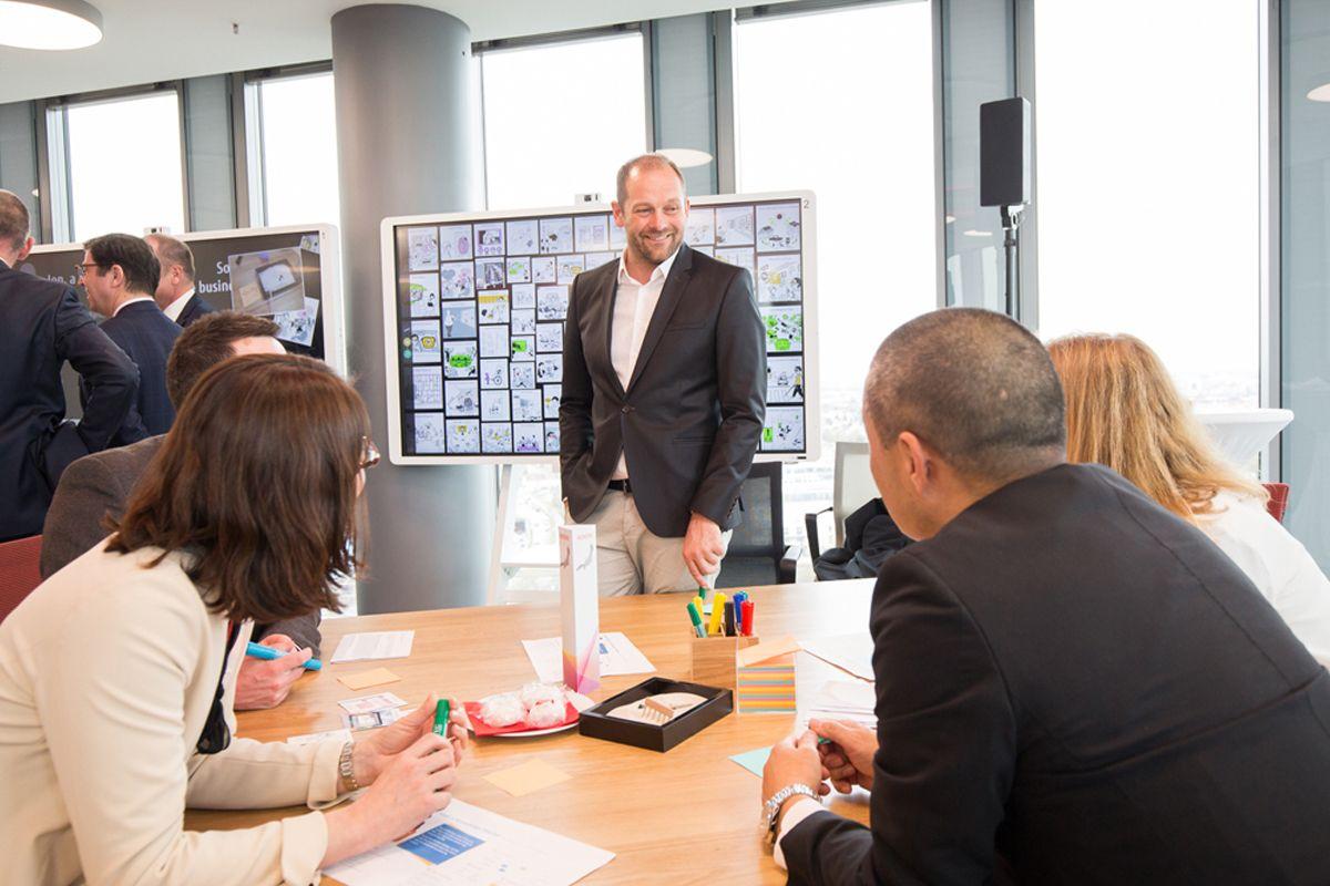 Co-creation Workshop im FUJITSU Digital Transformation Center München