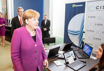 Angela Merkel beim Auftakt zum Girls' Day 2018
