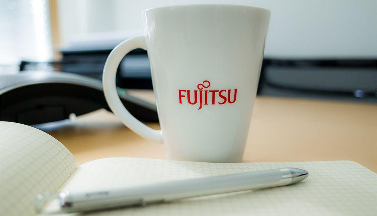 Fujitsu Kaffeetasse