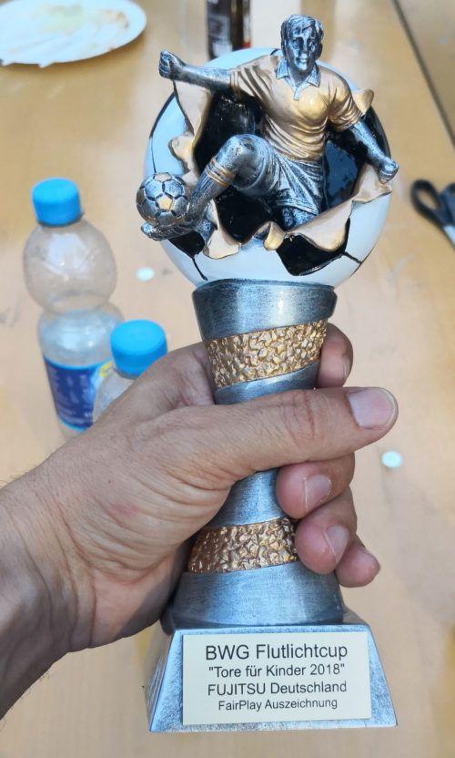 Fujitsu Team gewinnt FairPlay Pokal