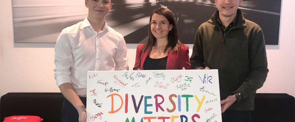 Teamspirit: OneFujitsu bei der Diversity Challenge