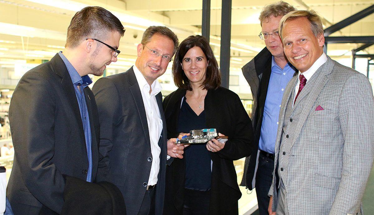 Digitale Bildung, Blockchain, Künstliche Intelligenz: Austausch mit FDP-Spitzenpolitikern