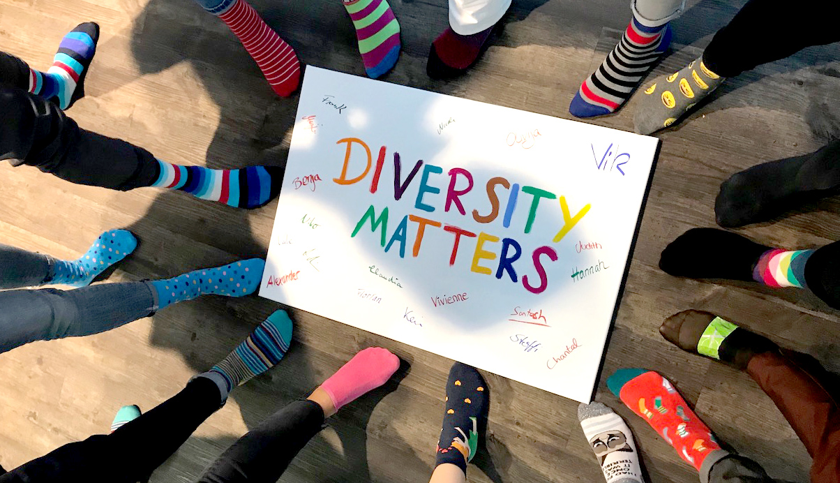 Be completely you: Happy Socks bei der Fujitsu Diversity & Inclusion Week