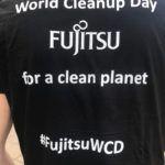 Aufstehen und anpacken: Fujitsu beim World Cleanup Day