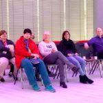 PurpleLightUp - Die Teilnehmer in München vor dem Workshop
