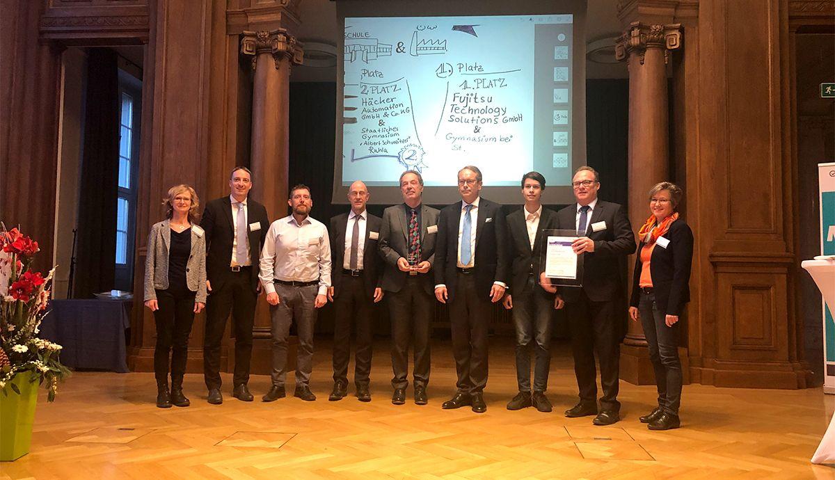 Das hat Potenzial: Fujitsu erreicht 1. Platz beim SCHULEWIRTSCHAFT-Preis