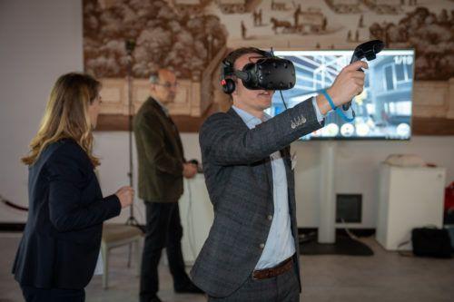 Virtual Reality-Baustelle der Berufsgenossenschaft der Bauwirtschaft